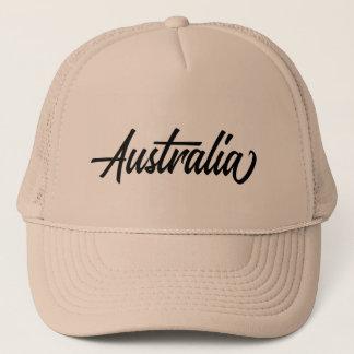 Gorra De Camionero Nombre de país de la tipografía para Australia