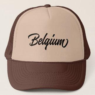 Gorra De Camionero Nombre de país de la tipografía para Bélgica