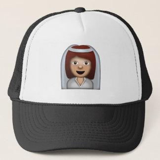 Gorra De Camionero Novia con el velo Emoji