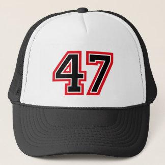 Gorra De Camionero Número 47