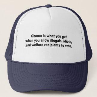 Gorra De Camionero Obama es lo que usted consigue cuándo