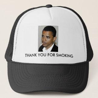 Gorra De Camionero Obama, gracias por fumar