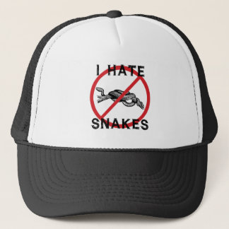 Gorra De Camionero Odio serpientes