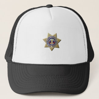 Gorra De Camionero Oficial del Special de la seguridad