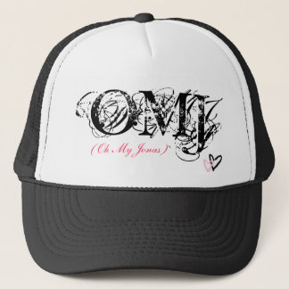 Gorra De Camionero OMJ, (oh mi Jonas) - modificado para requisitos