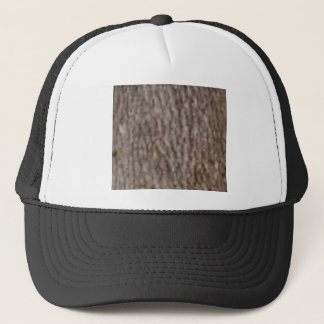 Gorra De Camionero ondulaciones de la corteza blanca