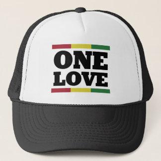 Gorra De Camionero One Rastafara love Cap - reggae -