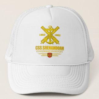 Gorra De Camionero Oro del CSS Shenandoah (emblema de la marina de