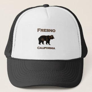 Gorra De Camionero Oso de Fresno California