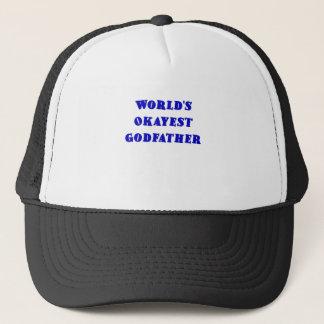 Gorra De Camionero Padrino de Okayest de los mundos