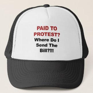 Gorra De Camionero ¿Pagado protestar? ¿De dónde envío al Bill?