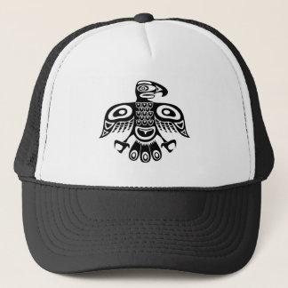 Gorra De Camionero Pájaro nativo del tótem