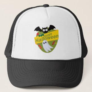 Gorra De Camionero Palos y fantasmas del feliz Halloween
