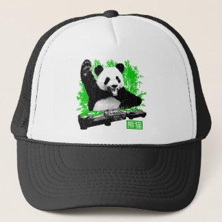 Gorra De Camionero Panda de DJ (mirada apenada vintage)