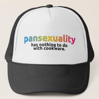 """Gorra De Camionero """"Pansexuality no tiene nada hacer con el casquillo"""