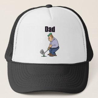 Gorra De Camionero Papá Golfing