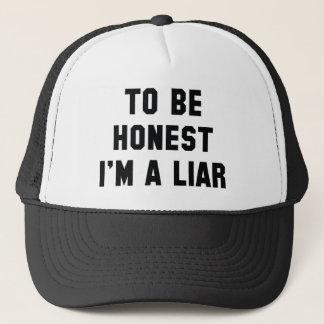 Gorra De Camionero Para ser honesto soy un mentiroso