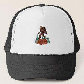 Gorra De Camionero Paraíso de Bigfoot