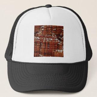 Gorra De Camionero pared de la roca de la forma de la forma de la