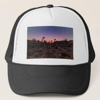 Gorra De Camionero Parque nacional de la yuca de la puesta del sol