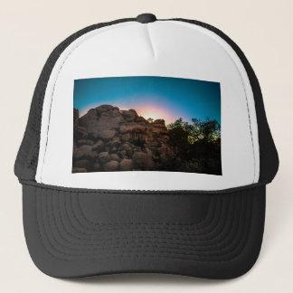 Gorra De Camionero Parque nacional de la yuca de la salida del sol