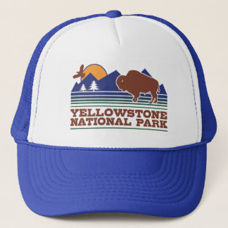 Gorra De Camionero Parque nacional de Yellowstone