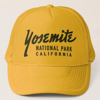 Gorra De Camionero Parque nacional de Yosemite del vintage