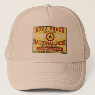 Gorra De Camionero Parque nacional del Mesa Verde