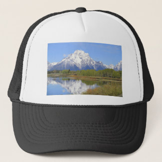 Gorra De Camionero Parque nacional magnífico del Mt. Moran Teton