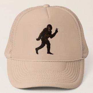 Gorra De Camionero Paz de Bigfoot Sasquatch