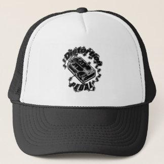 Gorra De Camionero Pedal de la distorsión - negro de la descarga