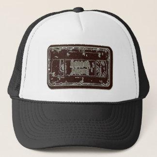 Gorra De Camionero Películas de terror - gris rojo de la cinta de