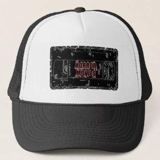 Gorra De Camionero Películas de terror - negro de la cinta de video