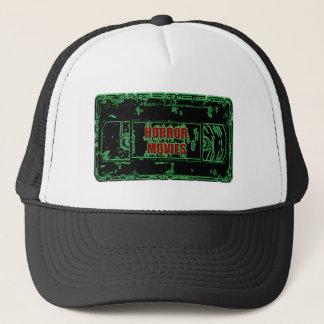 Gorra De Camionero Películas de terror - verde del neón de la cinta