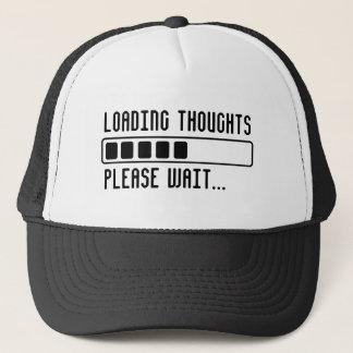 Gorra De Camionero Pensamientos del cargamento