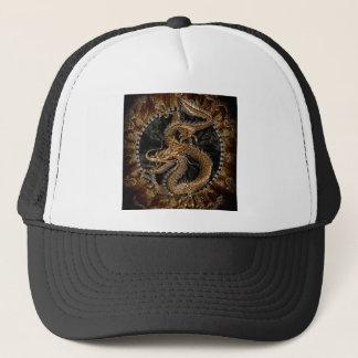 Gorra De Camionero Pentagram del dragón