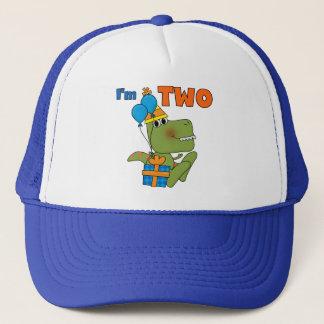 Gorra De Camionero Pequeños 2das camisetas y regalos del cumpleaños