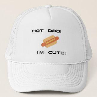 Gorra De Camionero Perrito caliente soy lindo
