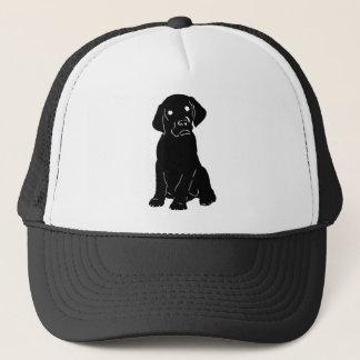Gorra De Camionero Perrito de la guía del perro