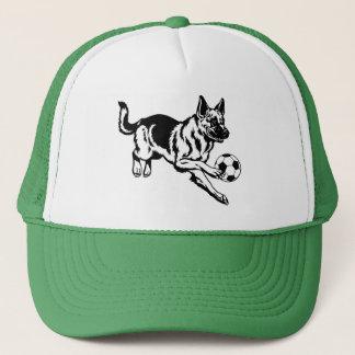 Gorra De Camionero perro de pastor alemán