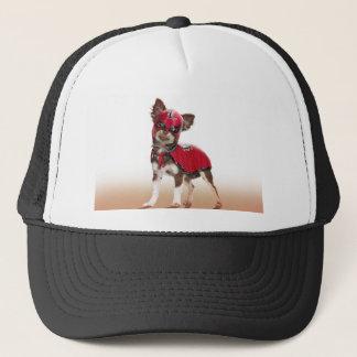 Gorra De Camionero Perro del libre de Lucha, chihuahua divertida,