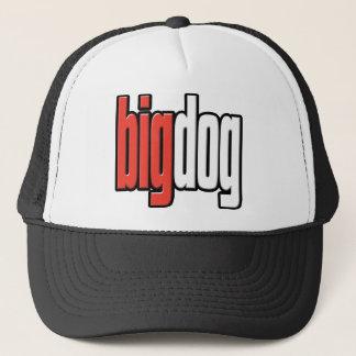 Gorra De Camionero Perro grande. Perro superior. Queso grande. Boss.
