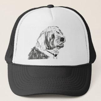 Gorra De Camionero Perro pastor inglés viejo