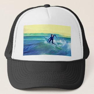 Gorra De Camionero Persona que practica surf