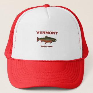 Gorra De Camionero Pesca de Vermont - trucha de arroyo