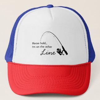 Gorra De Camionero Pesca del amor - en la otra línea