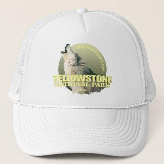 Gorra De Camionero PESO de Yellowstone NP (lobo gris)