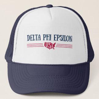 Gorra De Camionero Phi los E.E.U.U. épsilones del delta