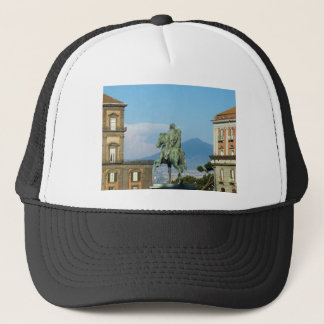 Gorra De Camionero Piazza del Plebiscito, Nápoles