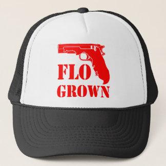 Gorra De Camionero Pistola crecida Flo FB.com/USAPatriotGraphics